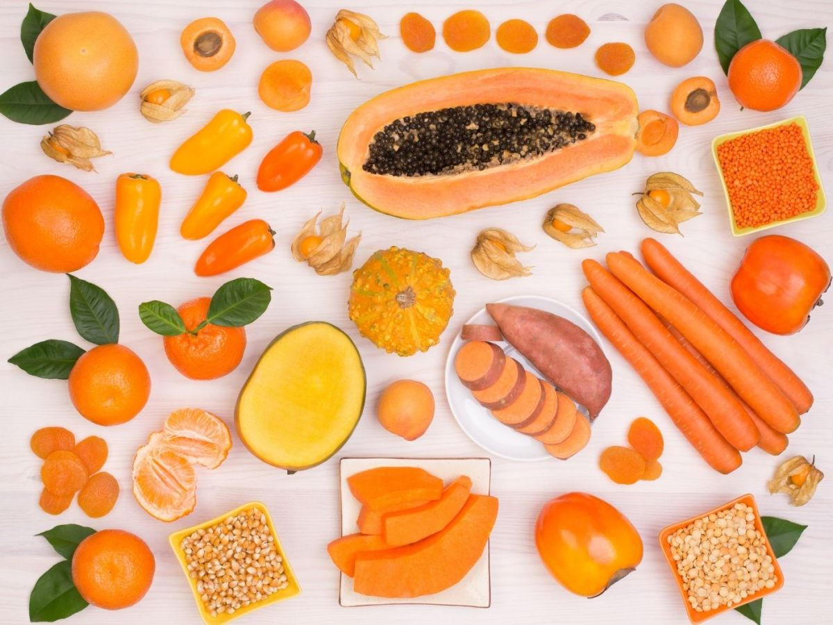 Foods that are rich in beta carotene
